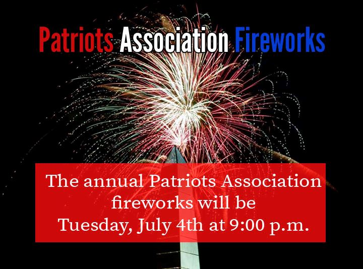 4th of July Fireworks information