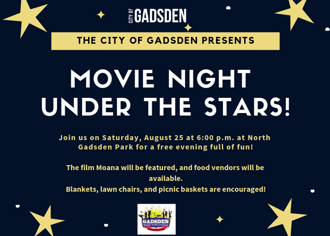 The City of Gadsden Presents